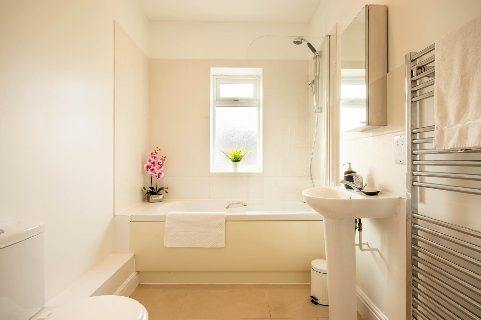 Bath at Spinney Apartment