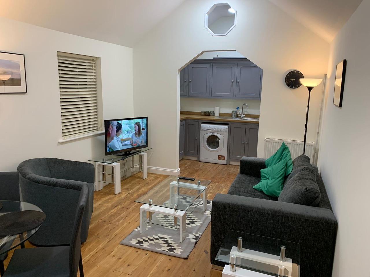 Living room at Bullingdon Apartment