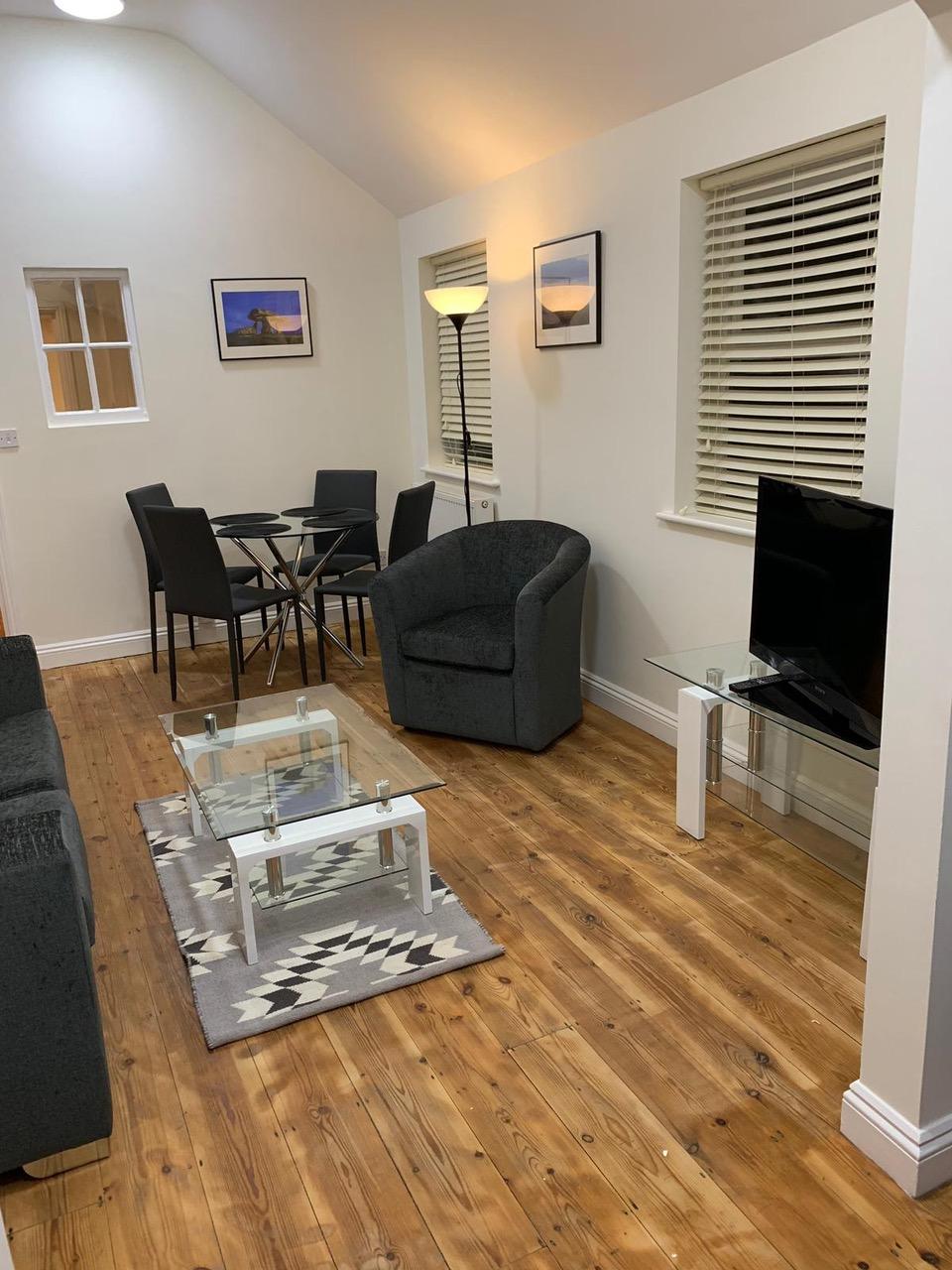 TV at Bullingdon Apartment