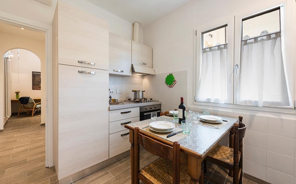 Kitchen at Serenity Apartment