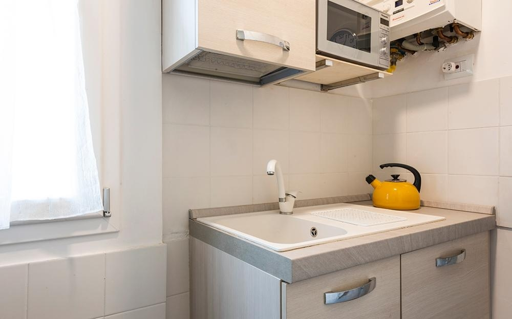Sink at Serenity Apartment