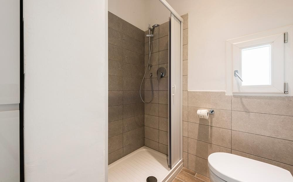 Shower at Serenity Apartment