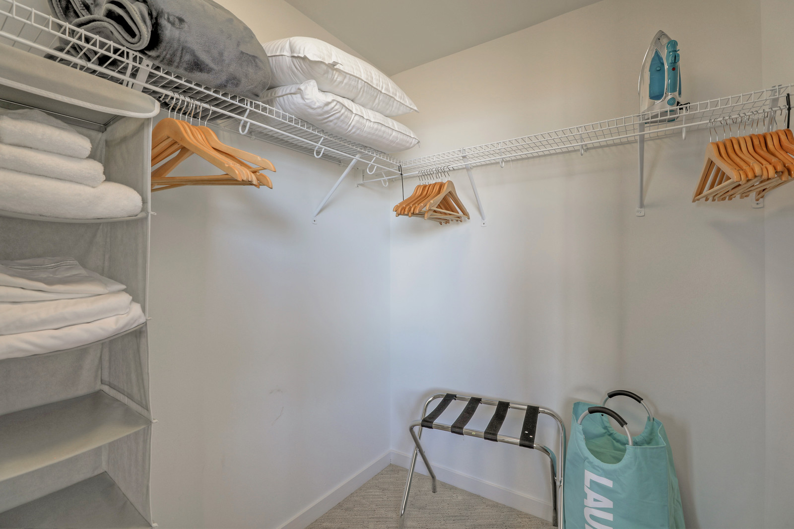 Closet at Aire Serviced Apartments