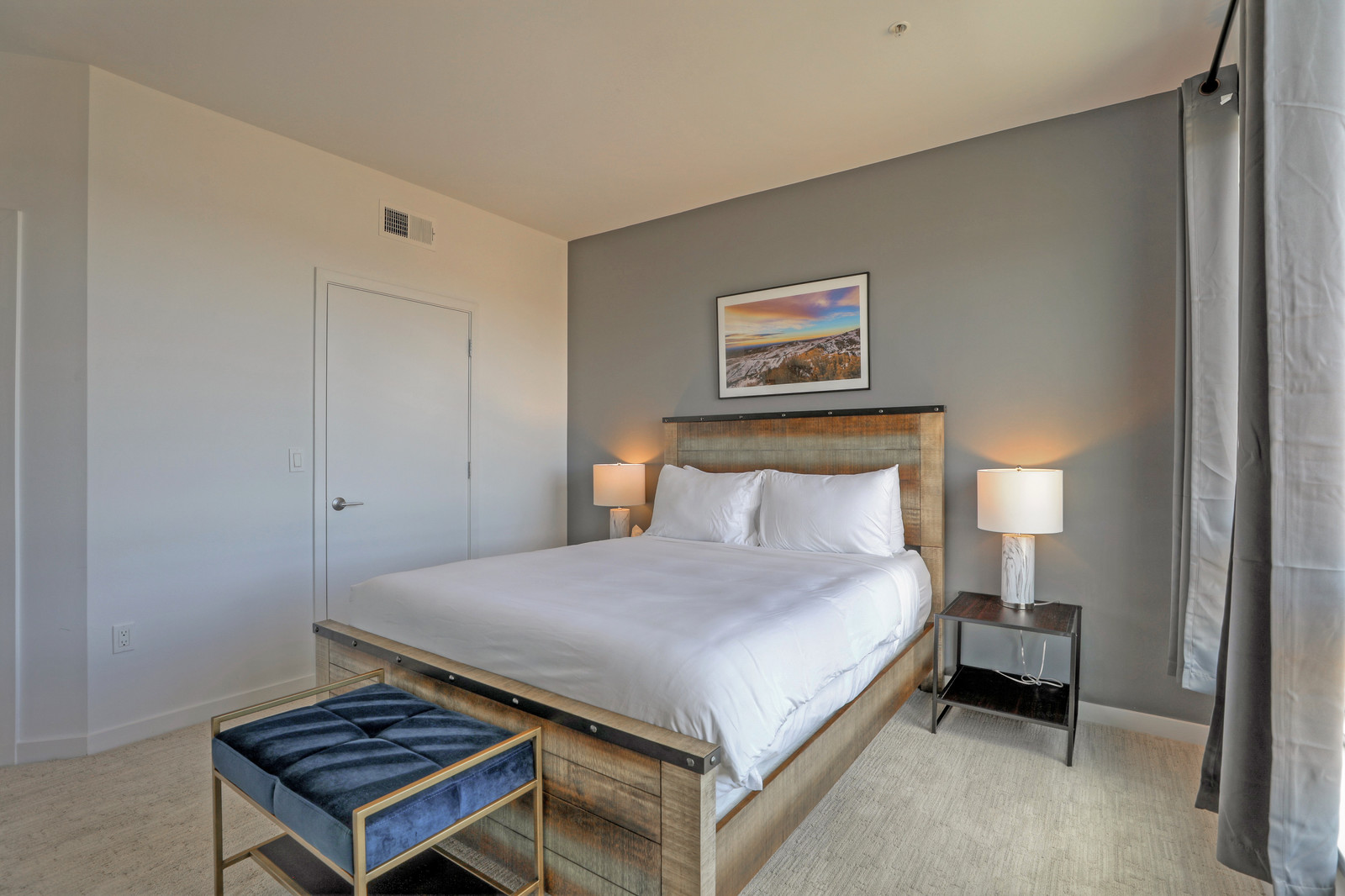 Bedroom at Aire Serviced Apartments