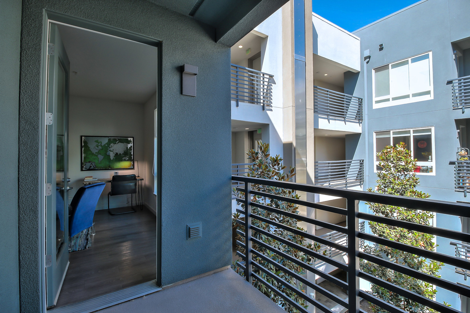 Balcony at Aire Serviced Apartments