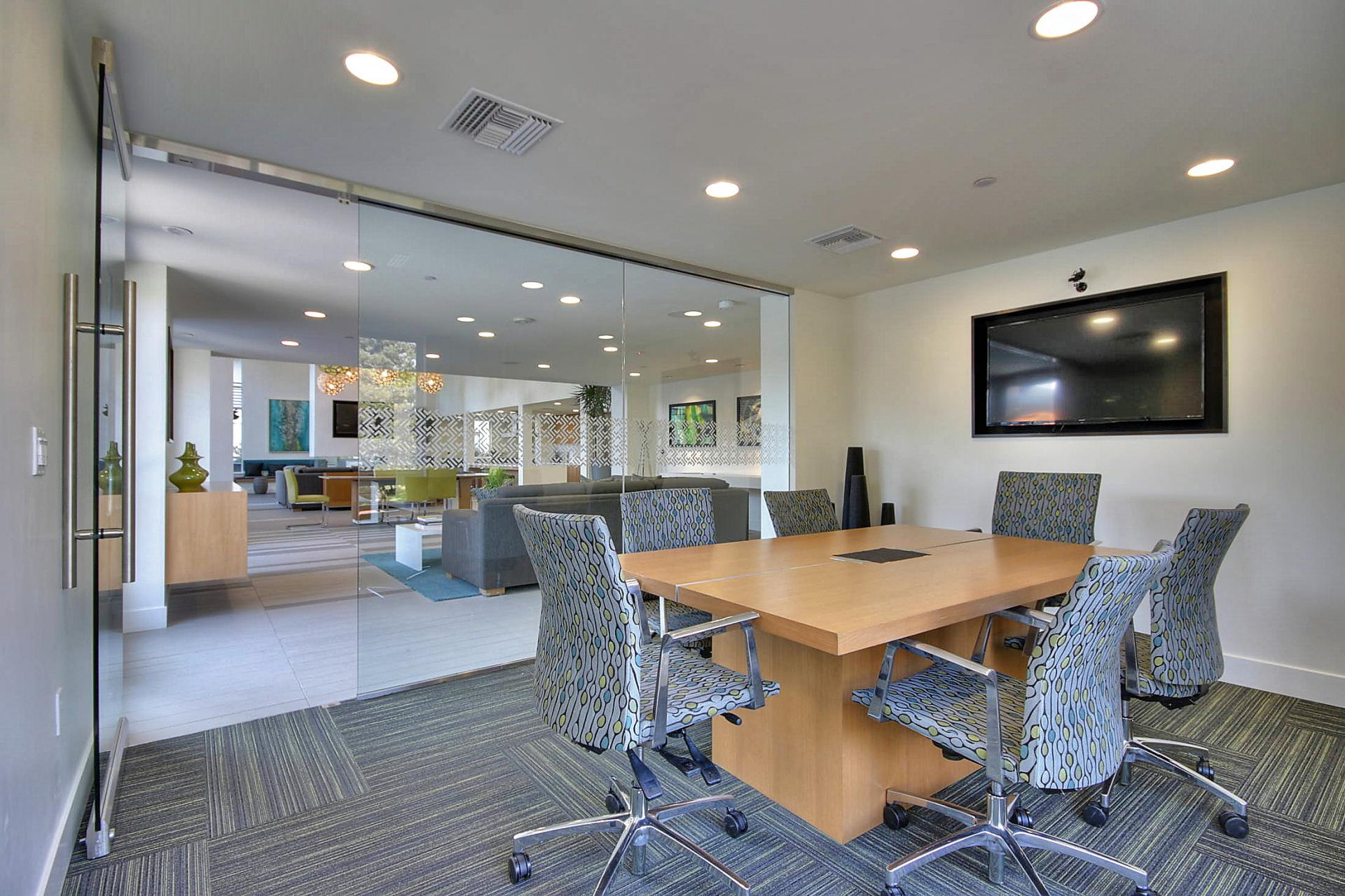 Meeting room at Aire Serviced Apartments