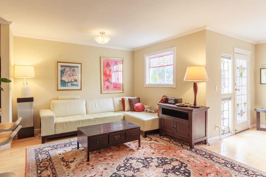 Living Room at Ramona Townhouse