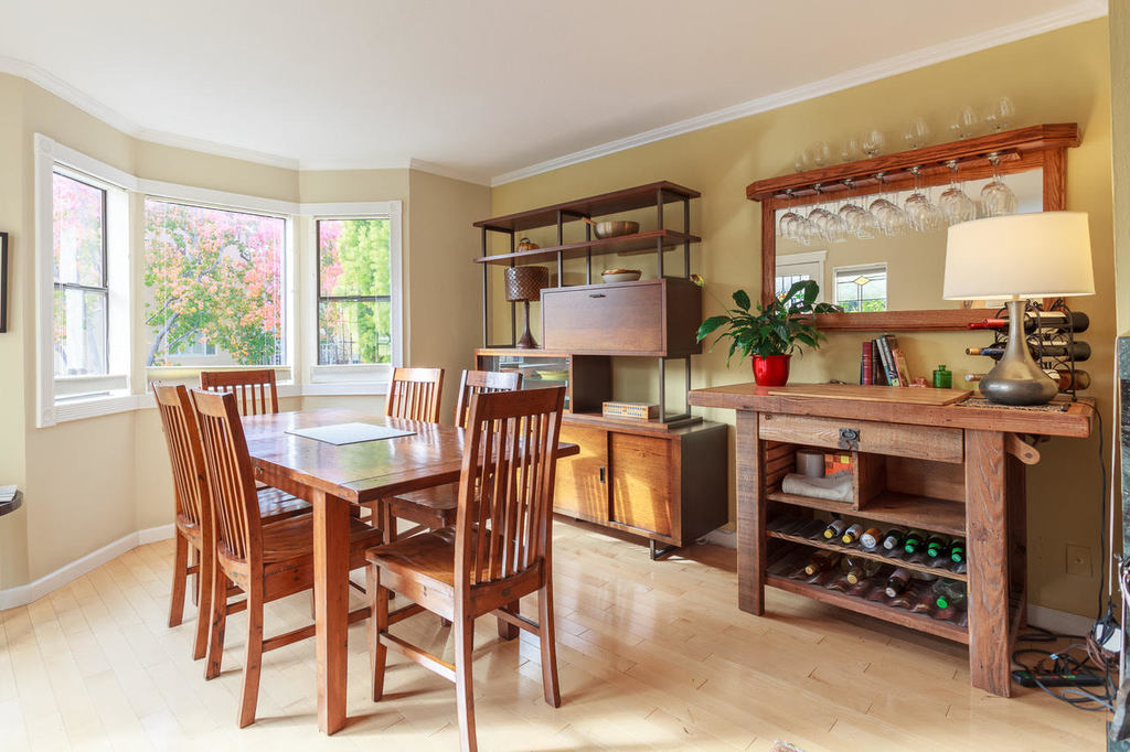 Dining Room at Ramona Townhouse