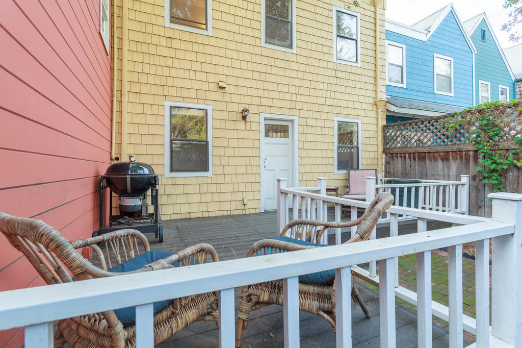 Outdoor Deck at Ramona Townhouse