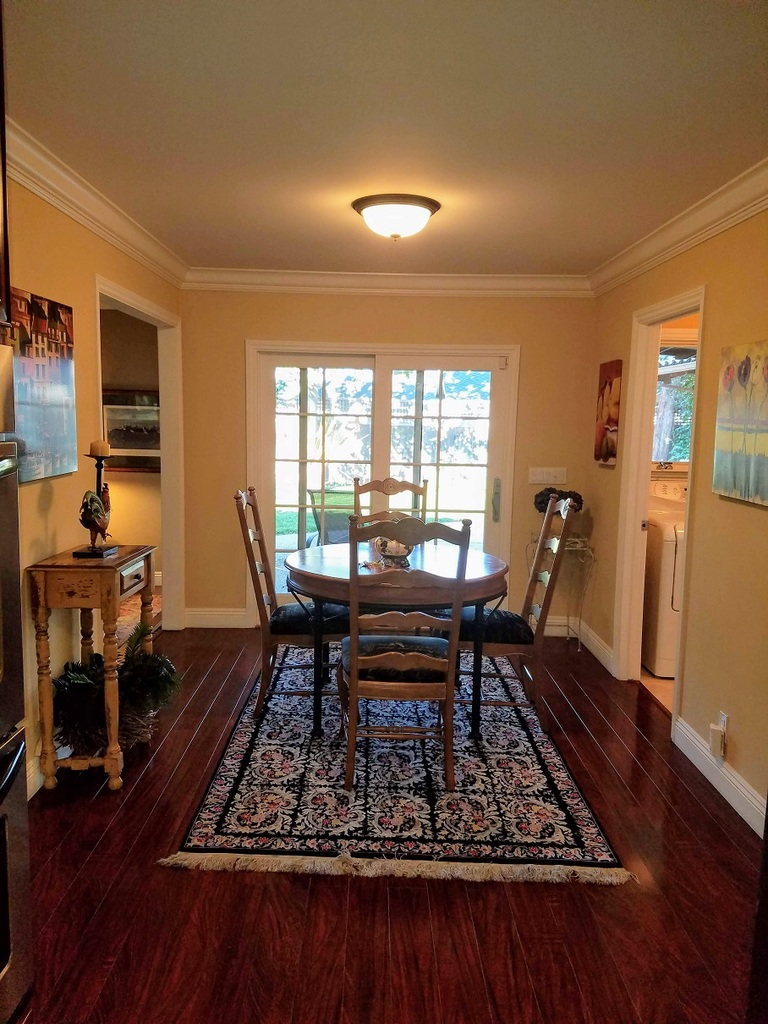 Dining Room at Hawthorne Townhouse