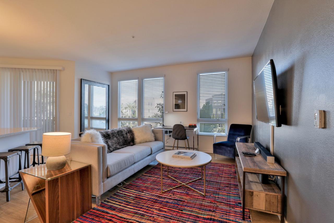 Sofa at River View Apartment Homes