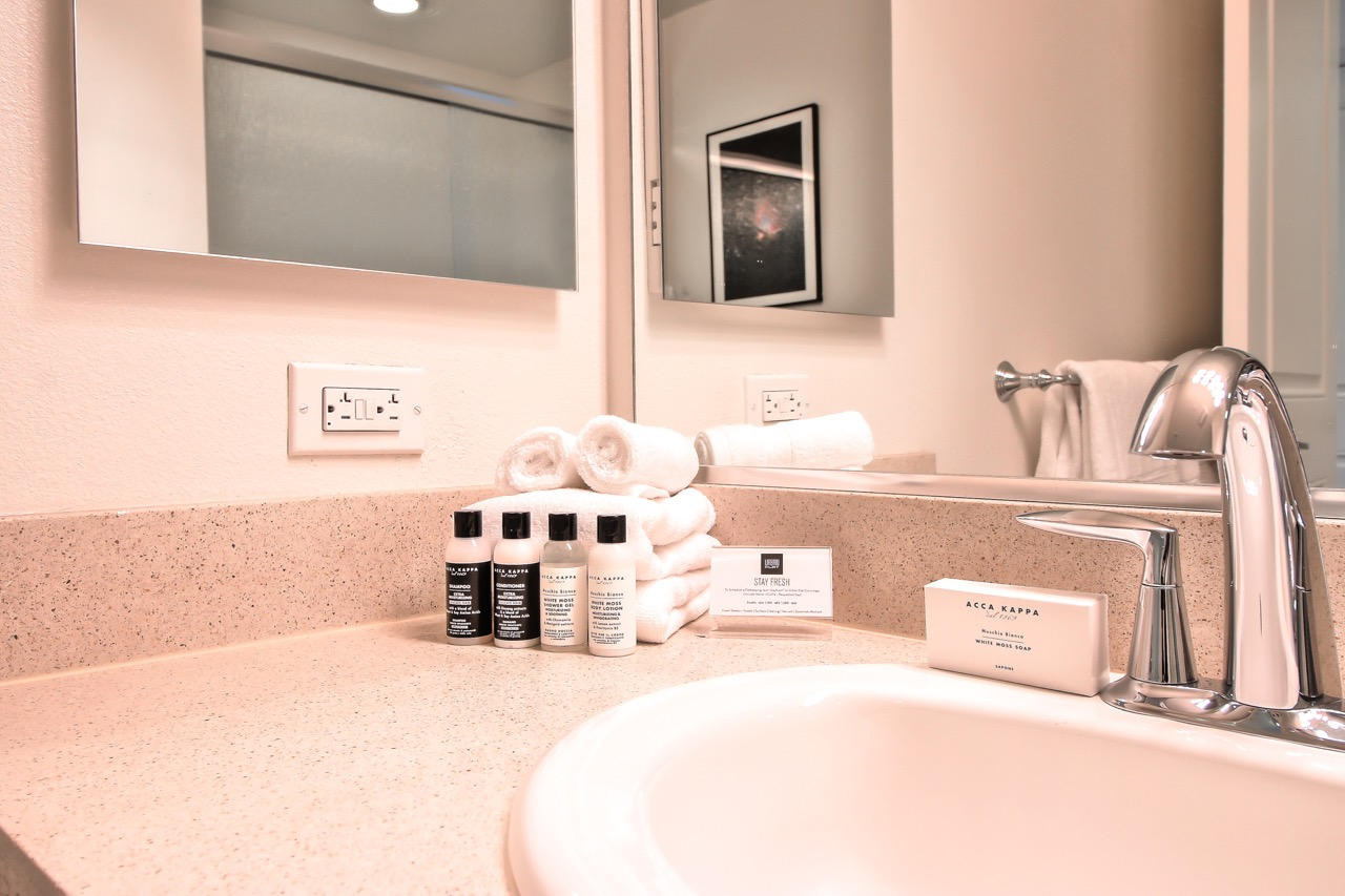 Sink at River View Apartment Homes