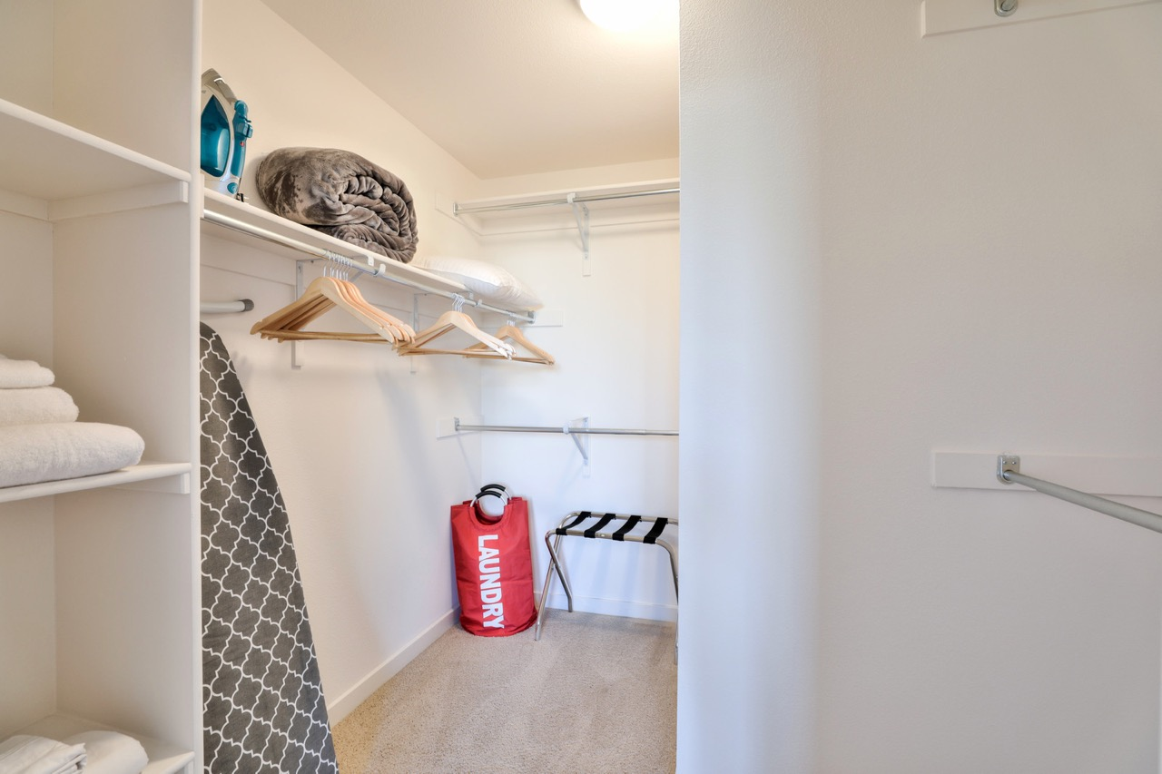 Laundry room at River View Apartment Homes