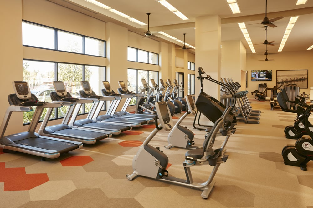 Gym at River View Apartment Homes