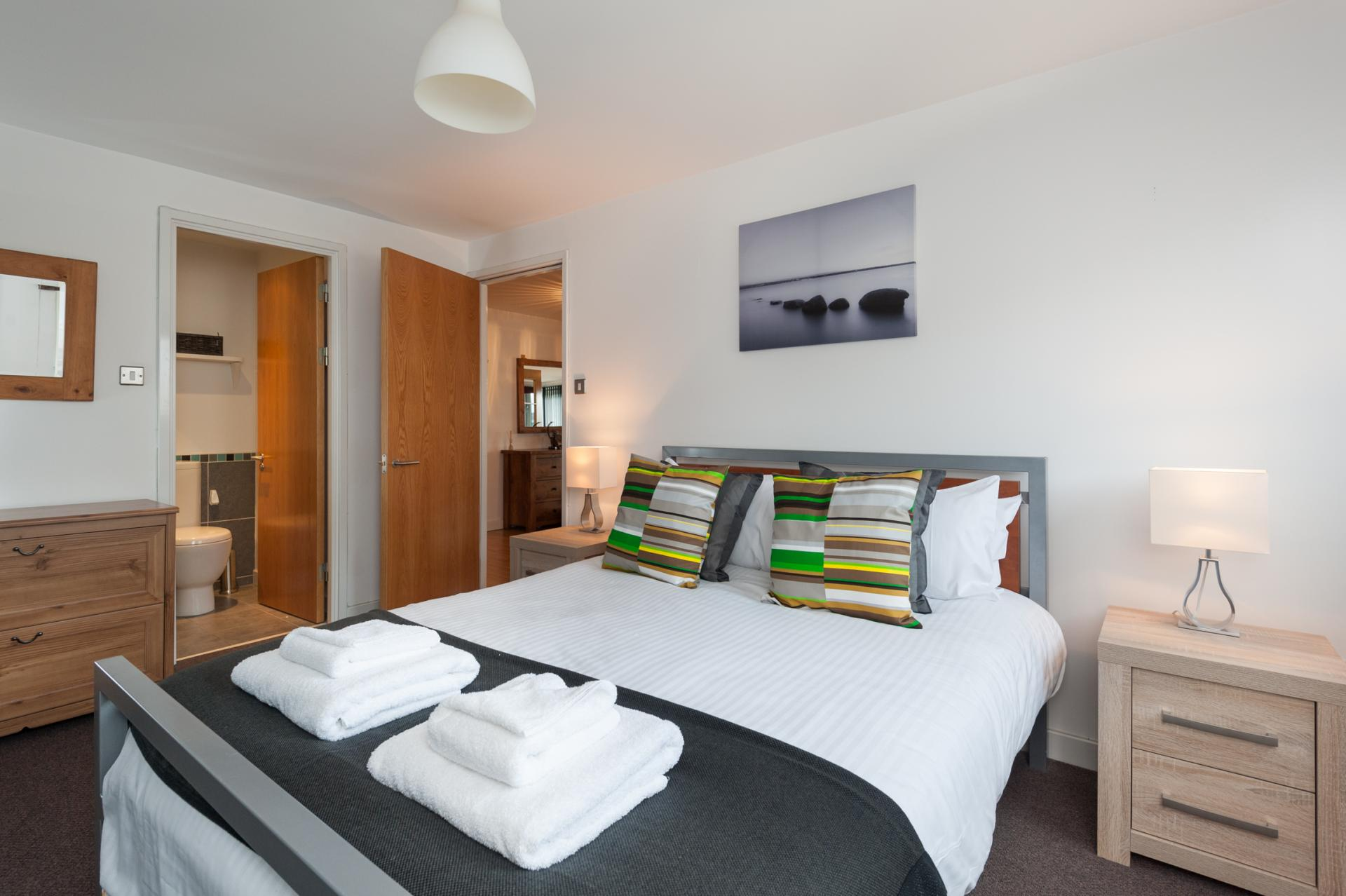 Bed 2 at Metropole Apartment