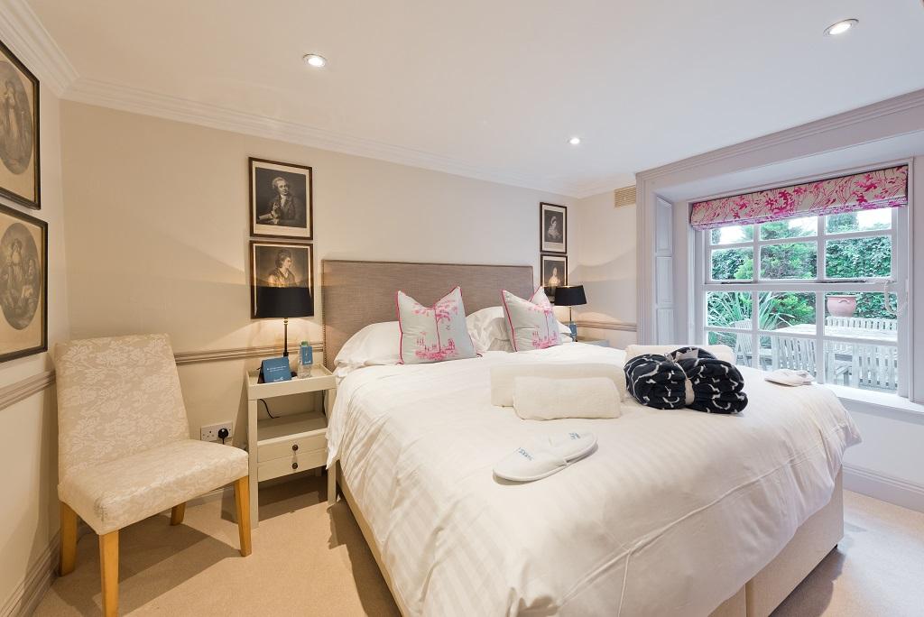 Bedroom at Wellington Road Apartment