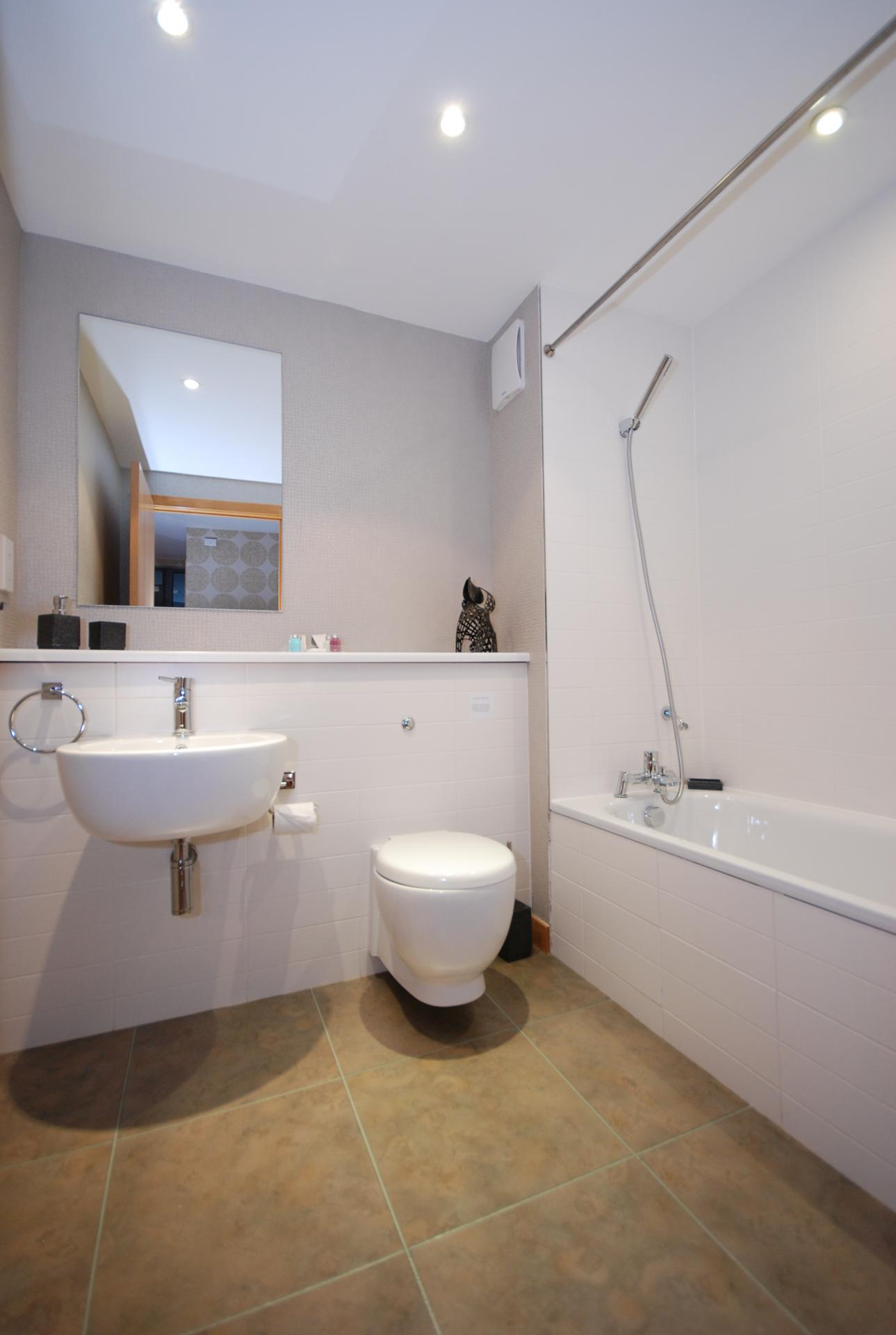 Bathroom at Barony High Apartment