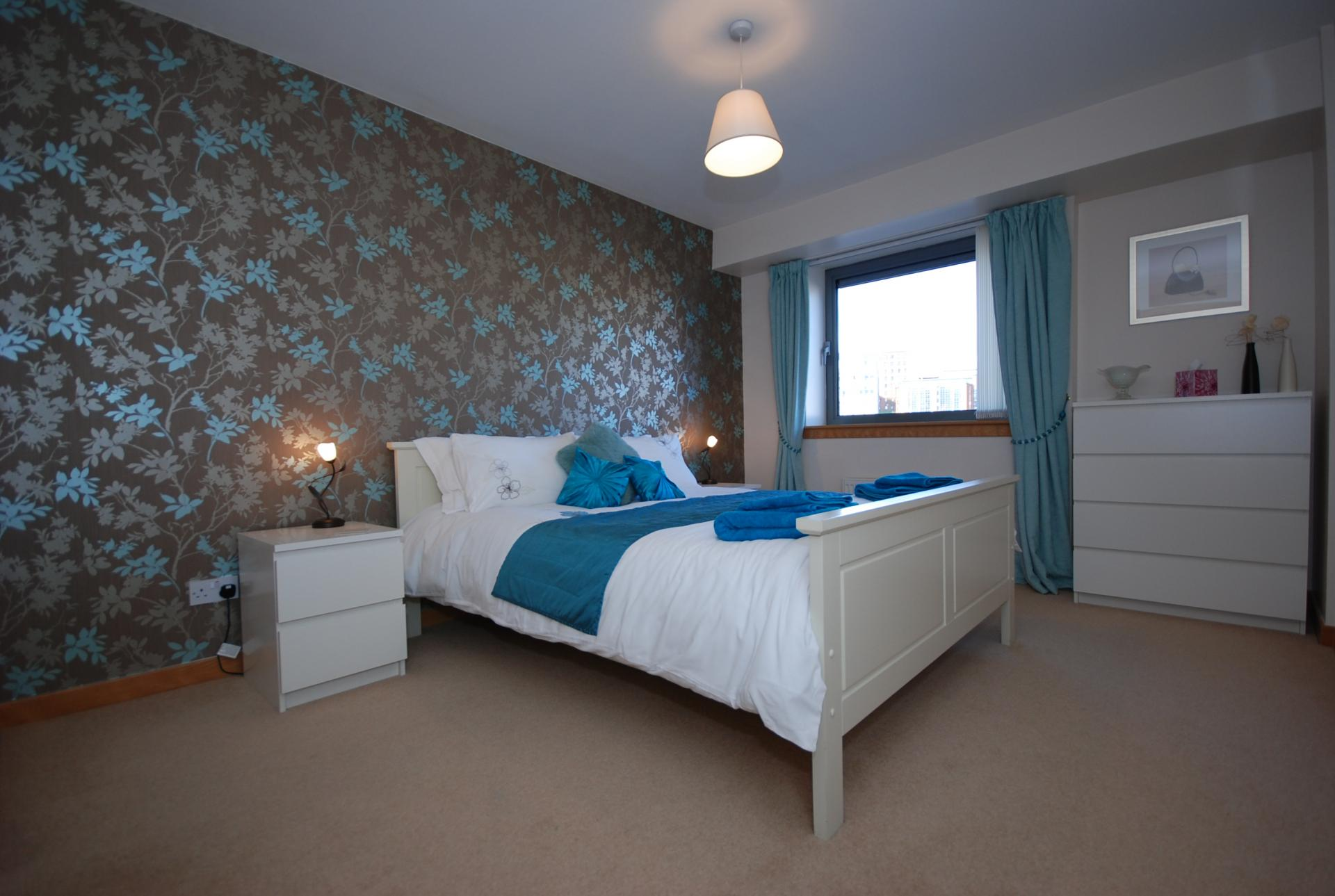 Bedroom at Barony High Apartment