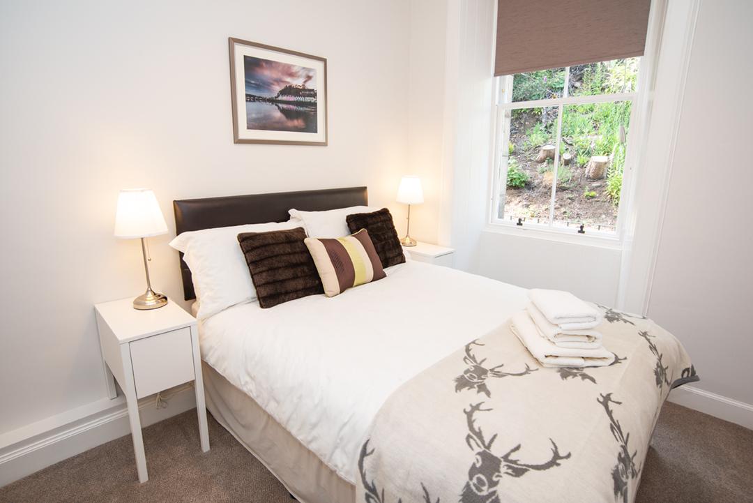 Bedroom at Lomond Apartment, Crossgates, Dunfermline