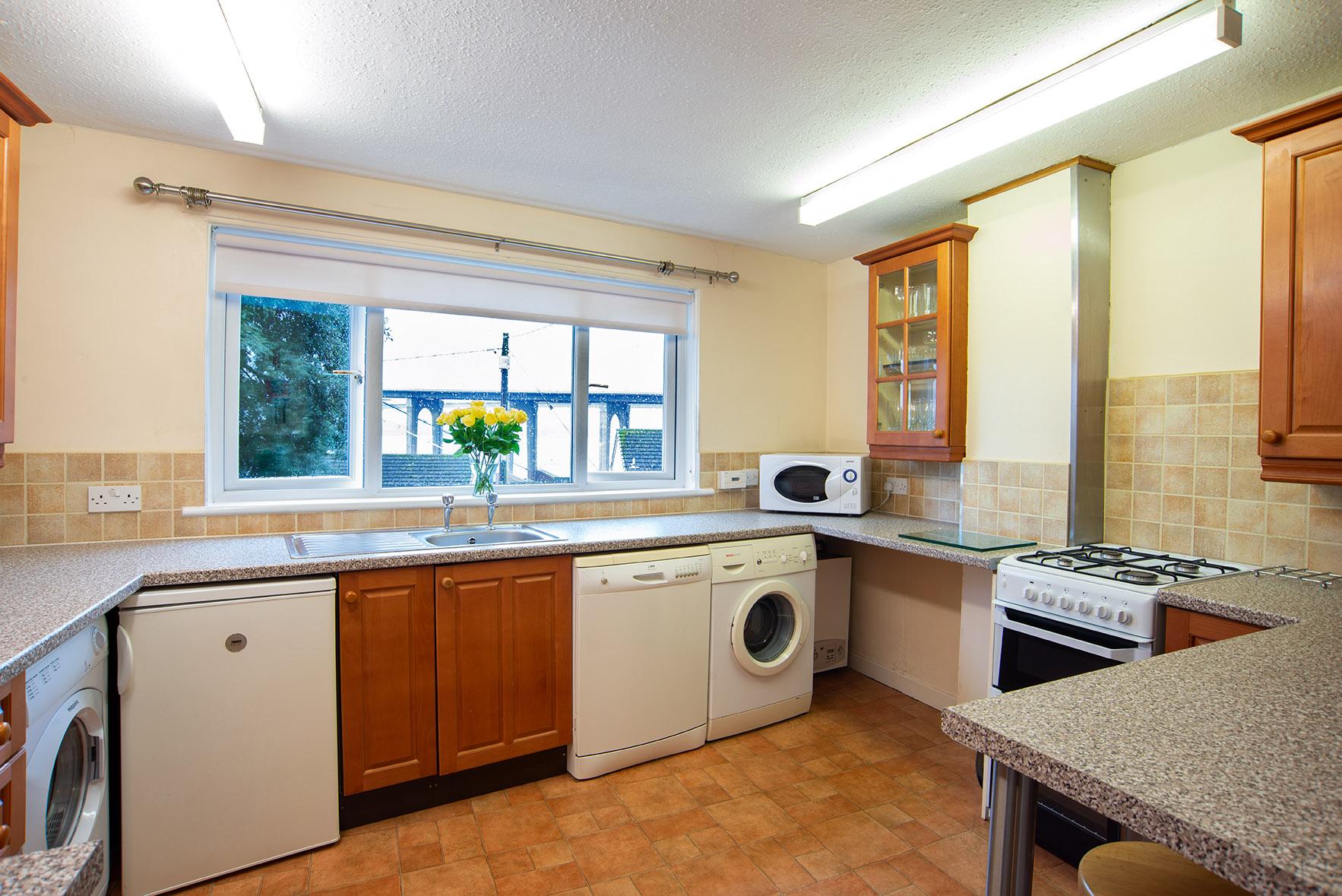 Kitchen at The Lodge, Crossgates, Dunfermline