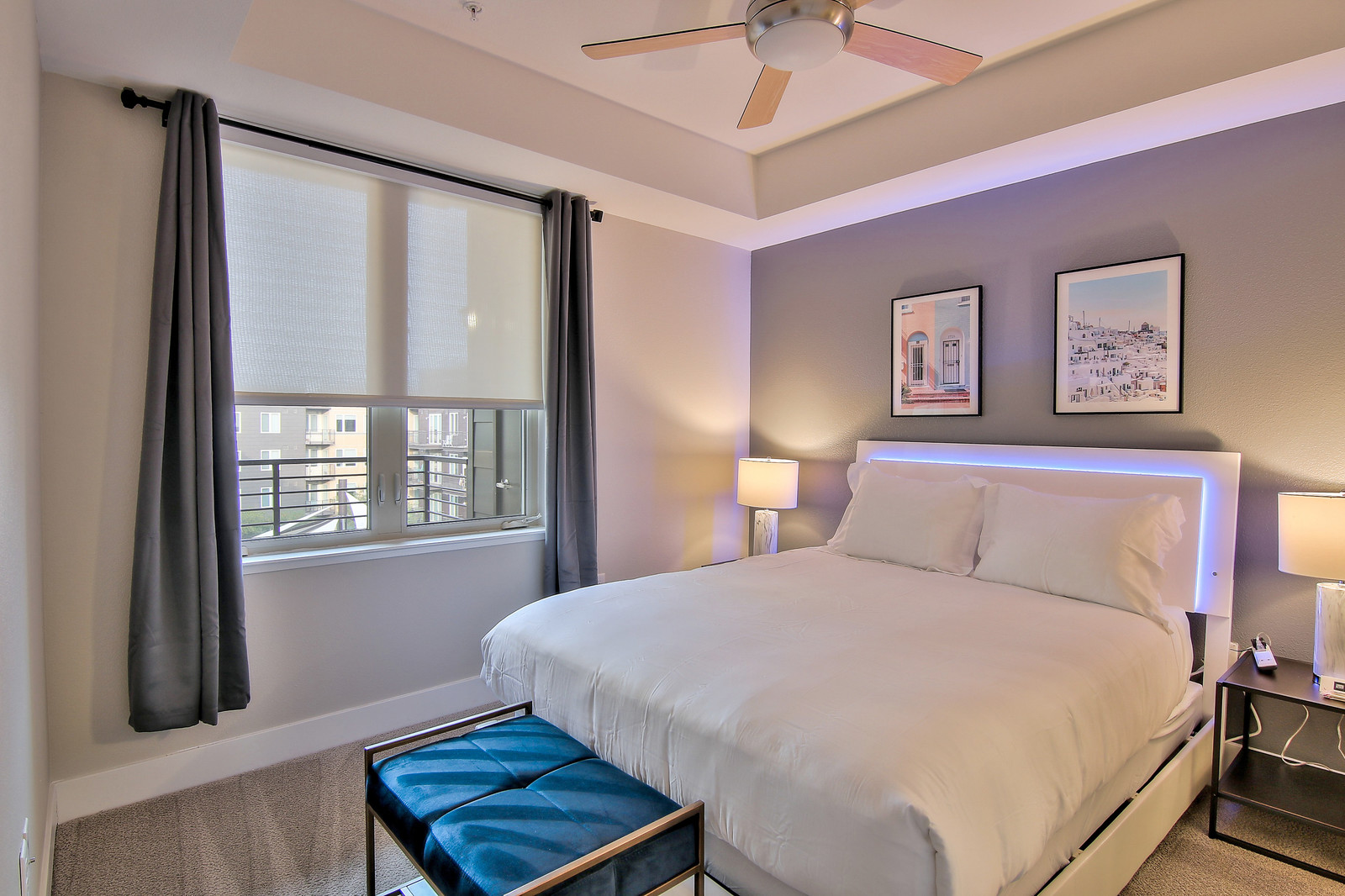 Bedroom at The Village Residences