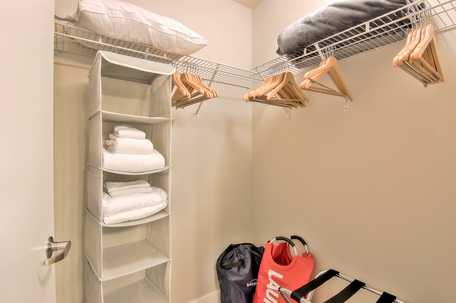 Closet at The Village Residences