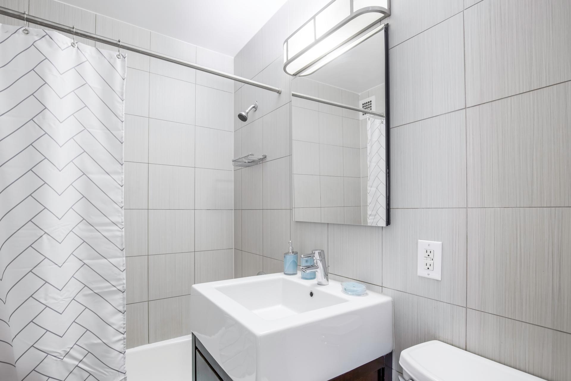 Bathroom at Kips Bay Court III Apartment