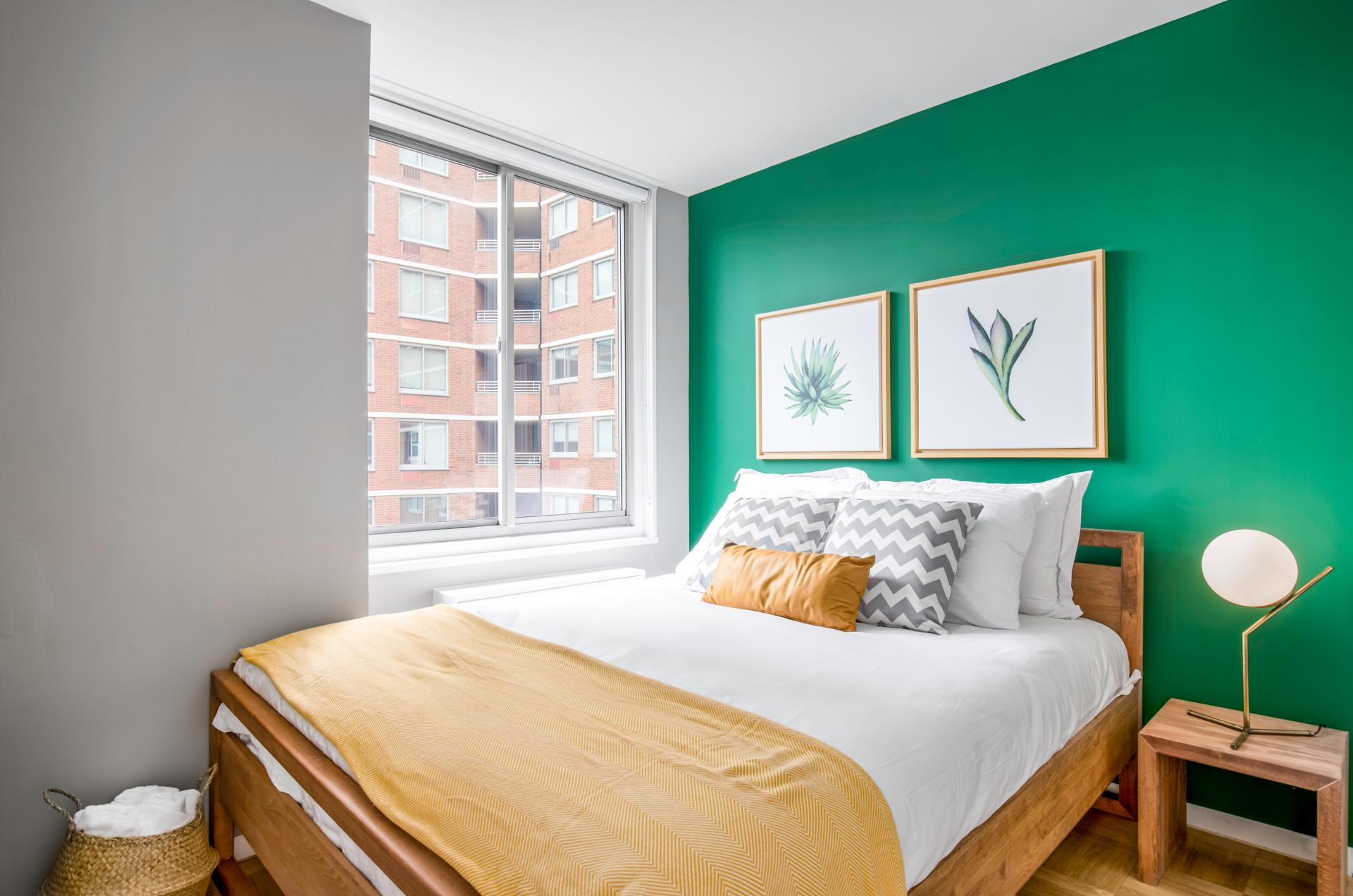 Bedroom at Kips Bay Court III Apartment