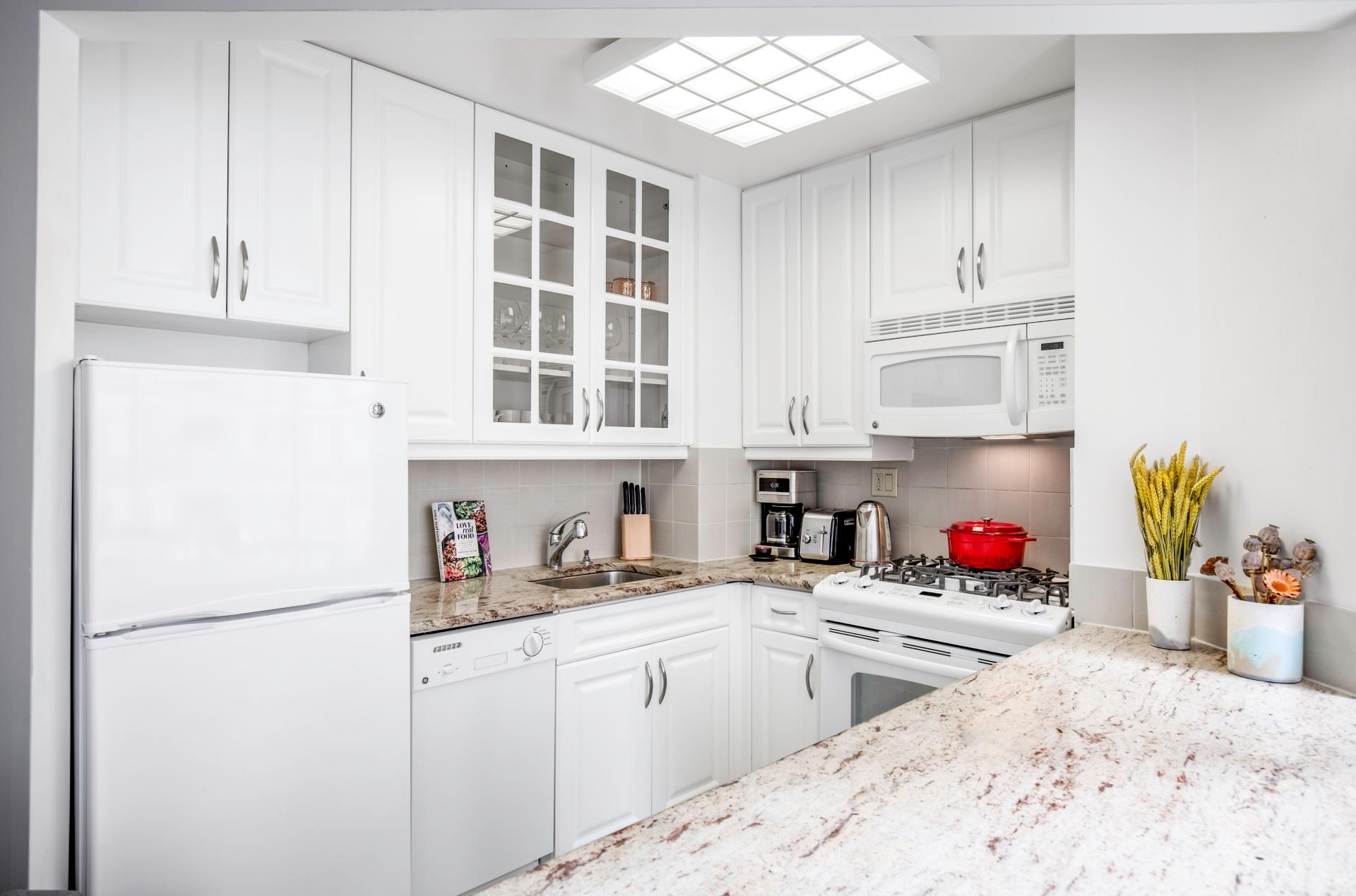 Kitchen at Kips Bay Court III Apartment