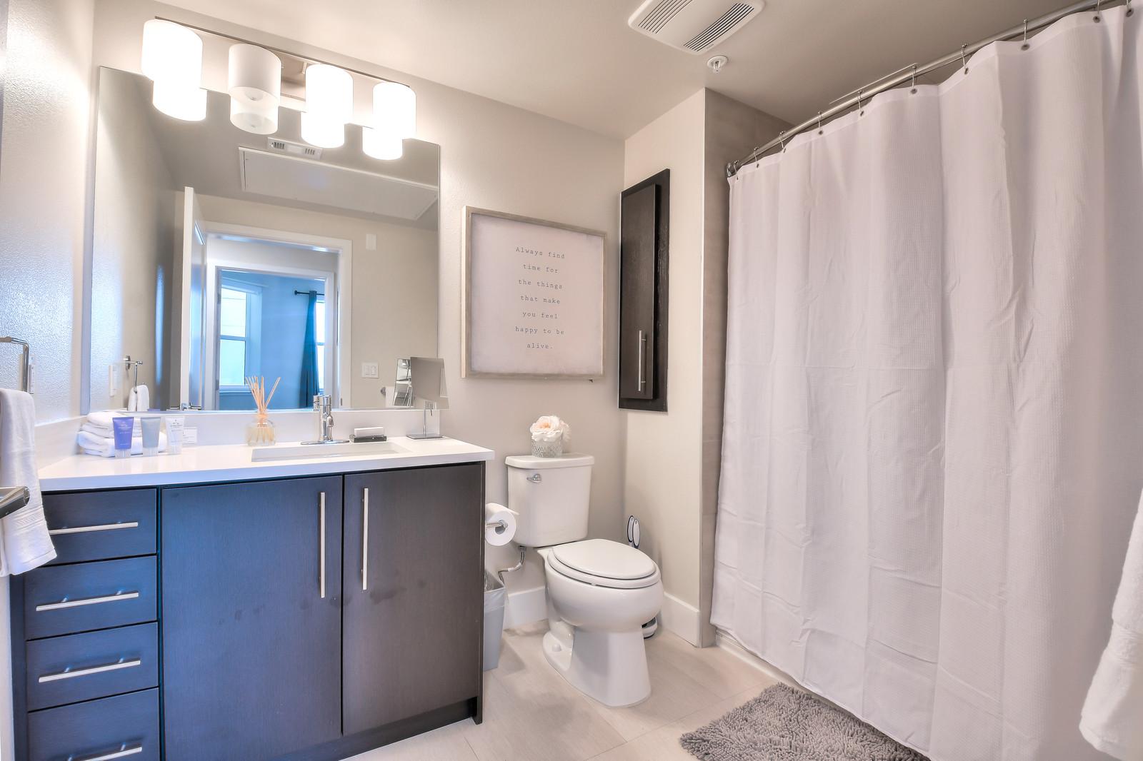 Bathroom at Franklin 299 Apartments