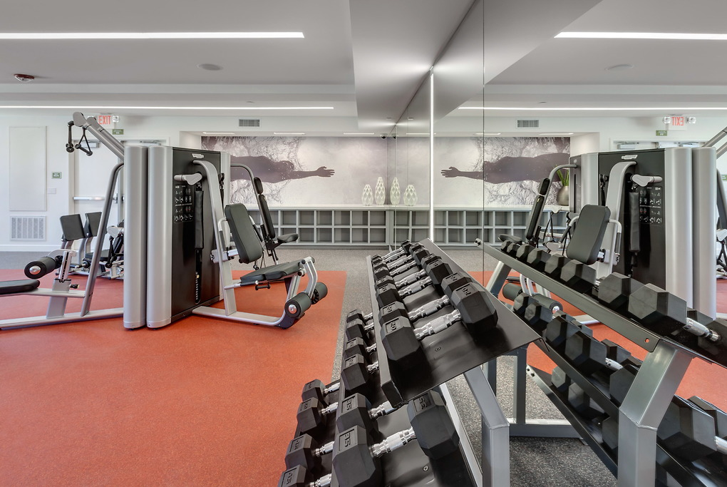 Gym at Park20 Apartments