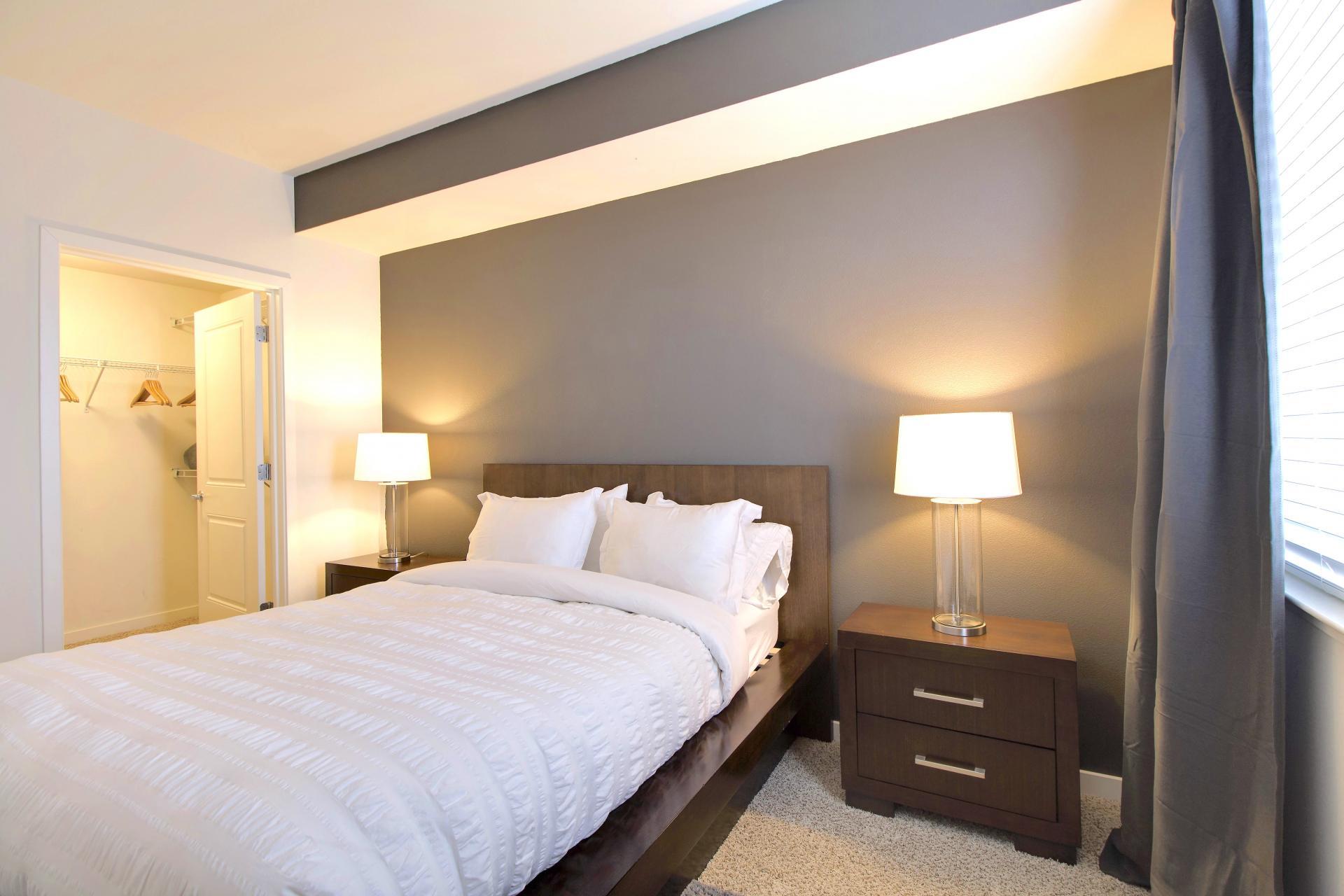 Bedroom at Park20 Apartments