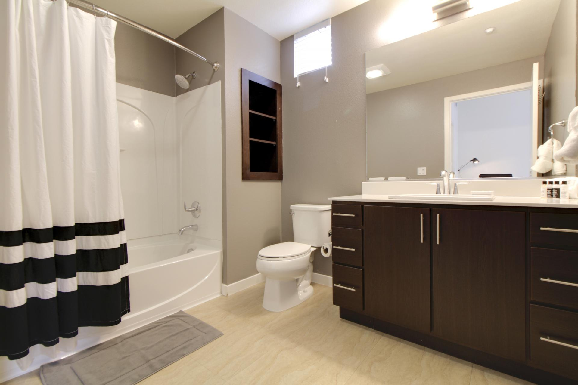 Bathroom at Park20 Apartments