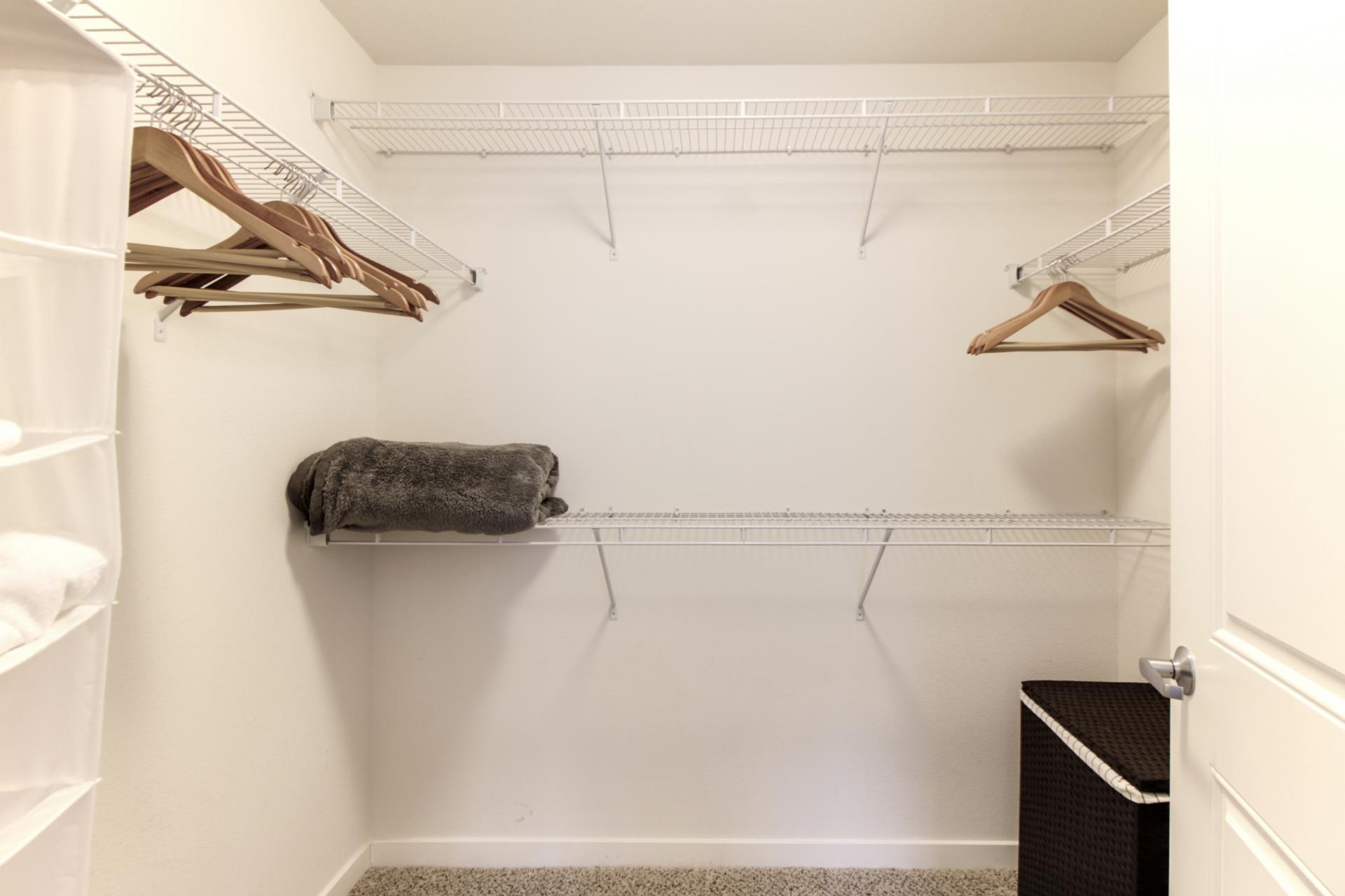 Closet at Park20 Apartments