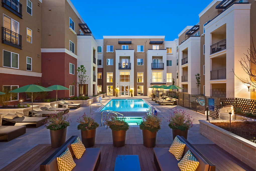 Pool at Park20 Apartments