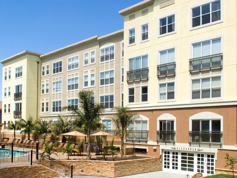 Exterior of Santana Heights Apartments, The Villas, San Jose
