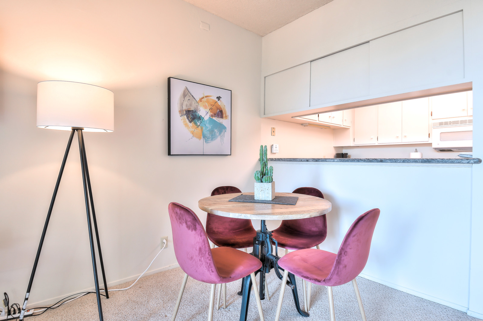 Dining table at The Marc Serviced Apartments