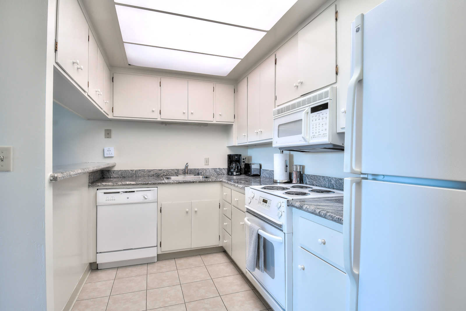 Kitchen at The Marc Serviced Apartments