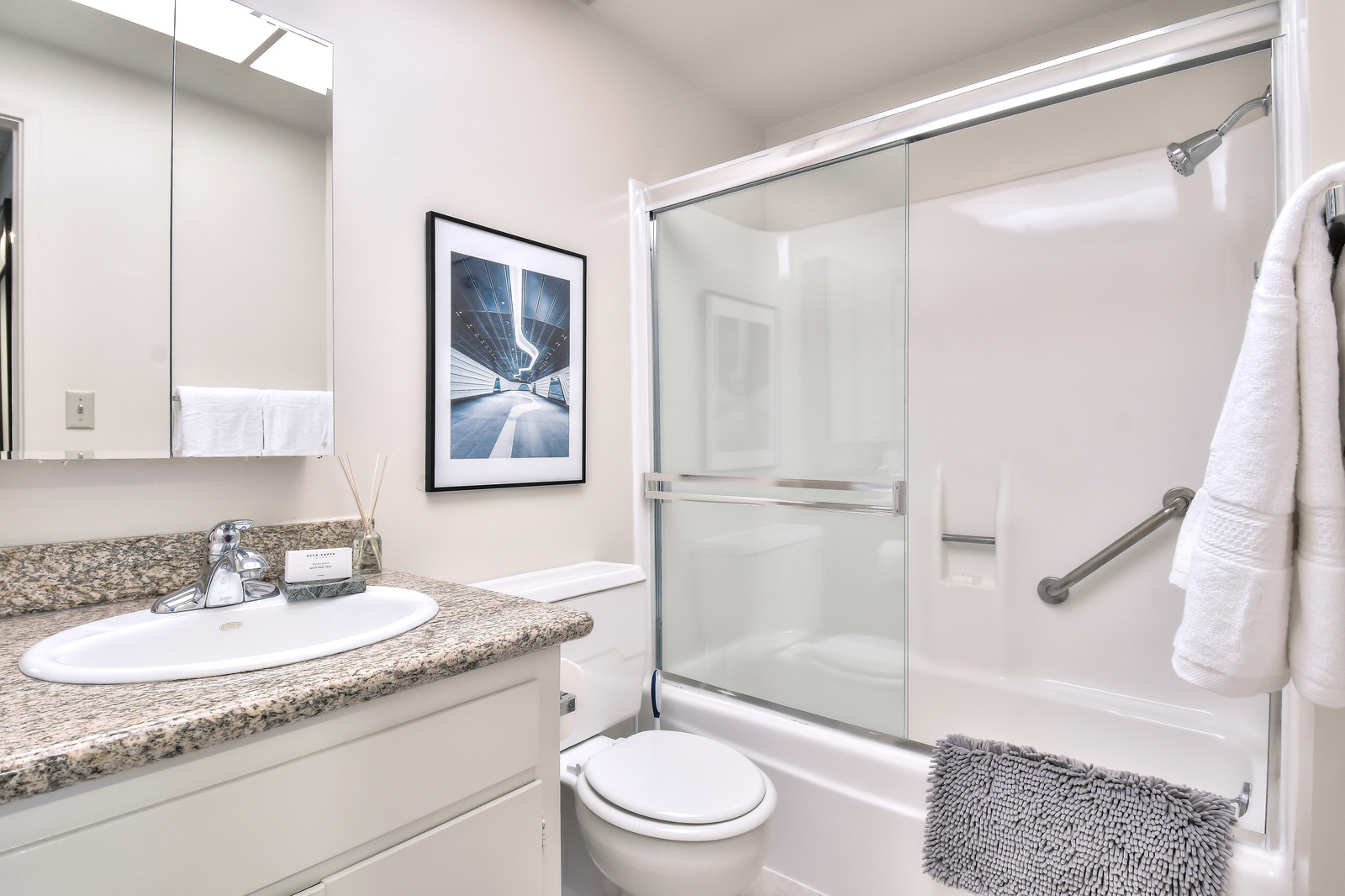 Bathroom at The Marc Serviced Apartments