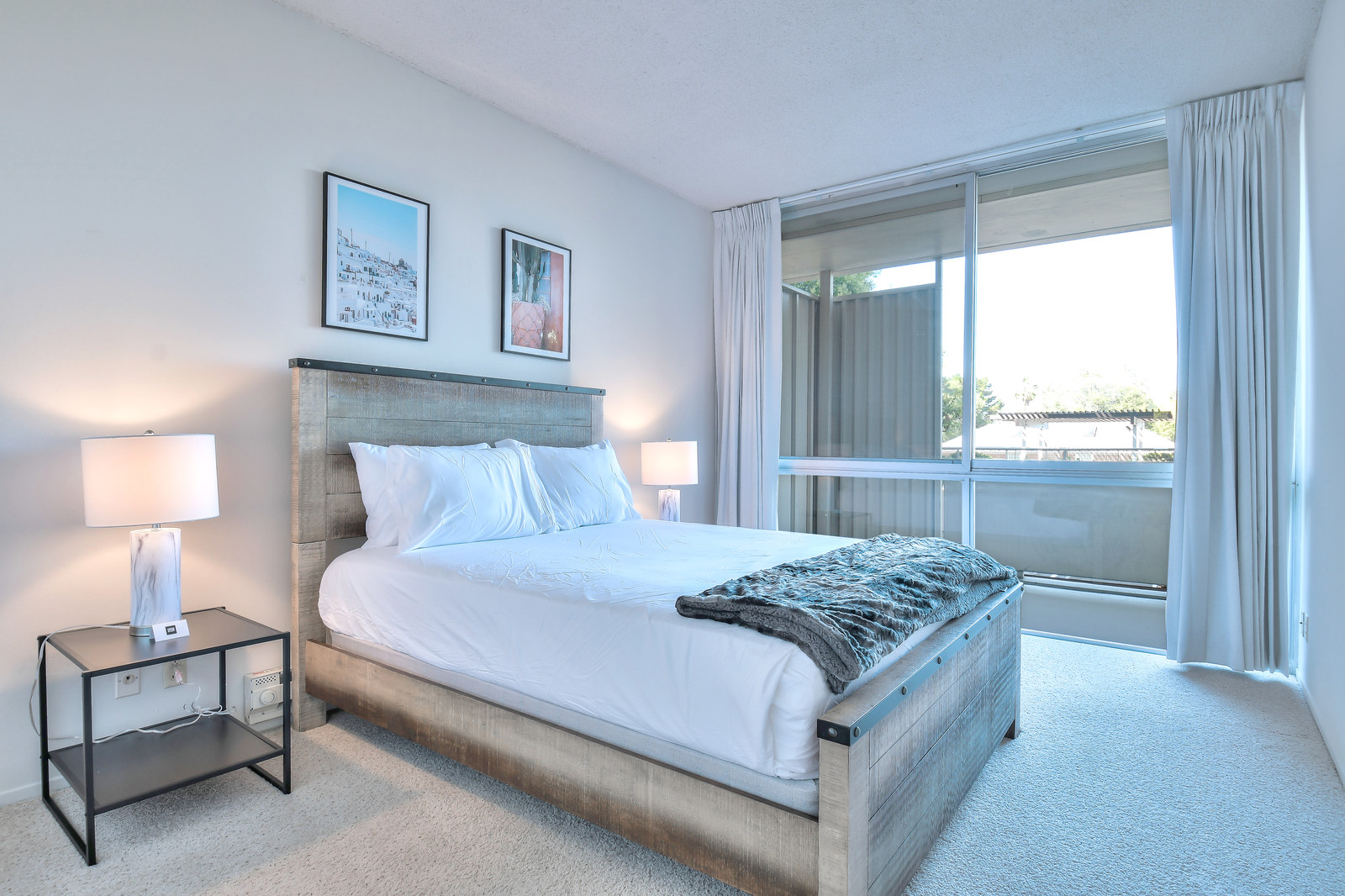 Bedroom at The Marc Serviced Apartments