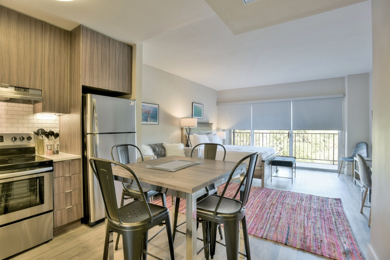 Dining table at The Mia Serviced Apartments