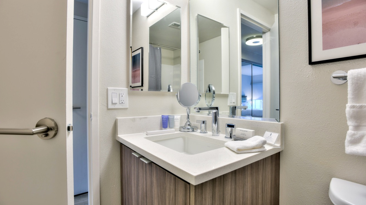 Sink at The Mia Serviced Apartments