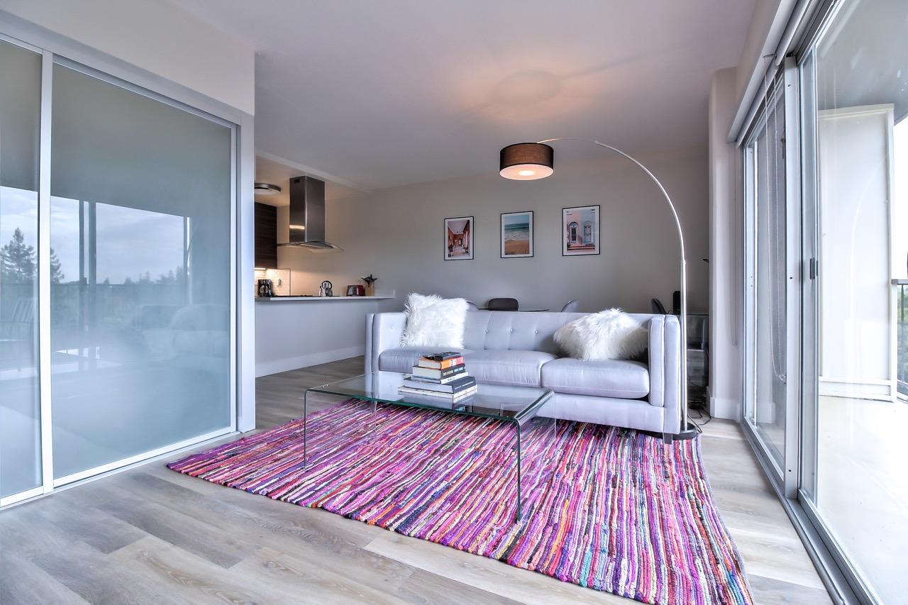 Sofa at The Mia Serviced Apartments