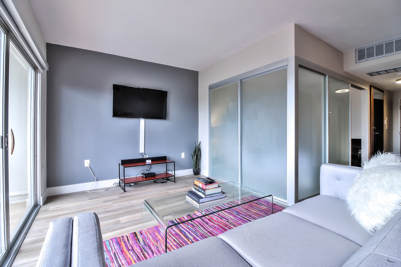 TV at The Mia Serviced Apartments