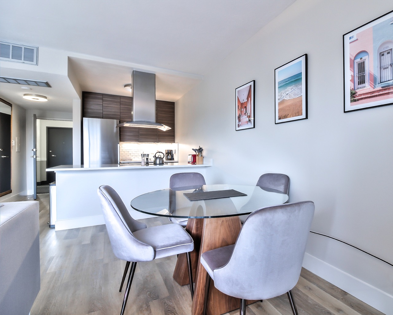 Eating area at The Mia Serviced Apartments