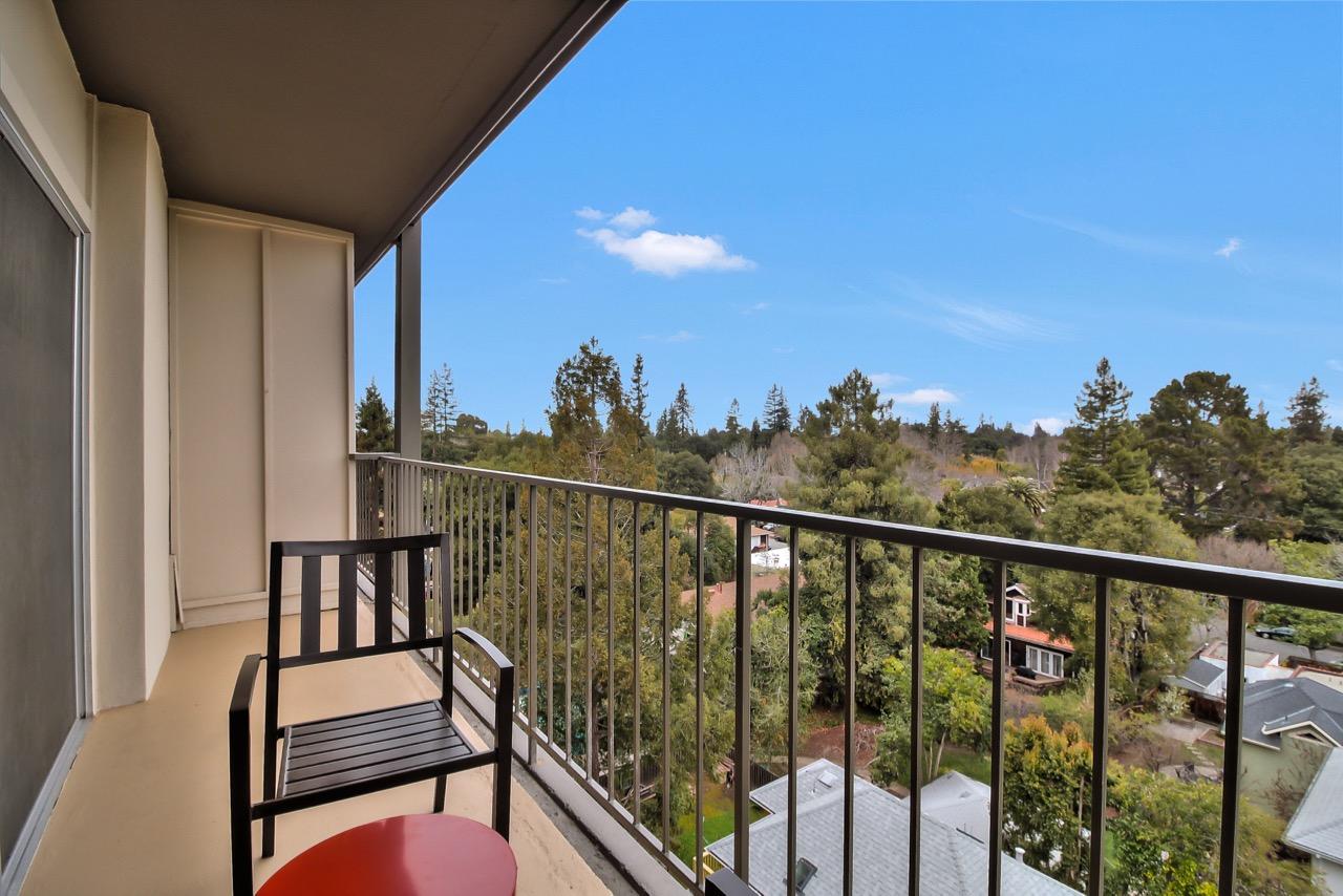 Balcony at The Mia Serviced Apartments