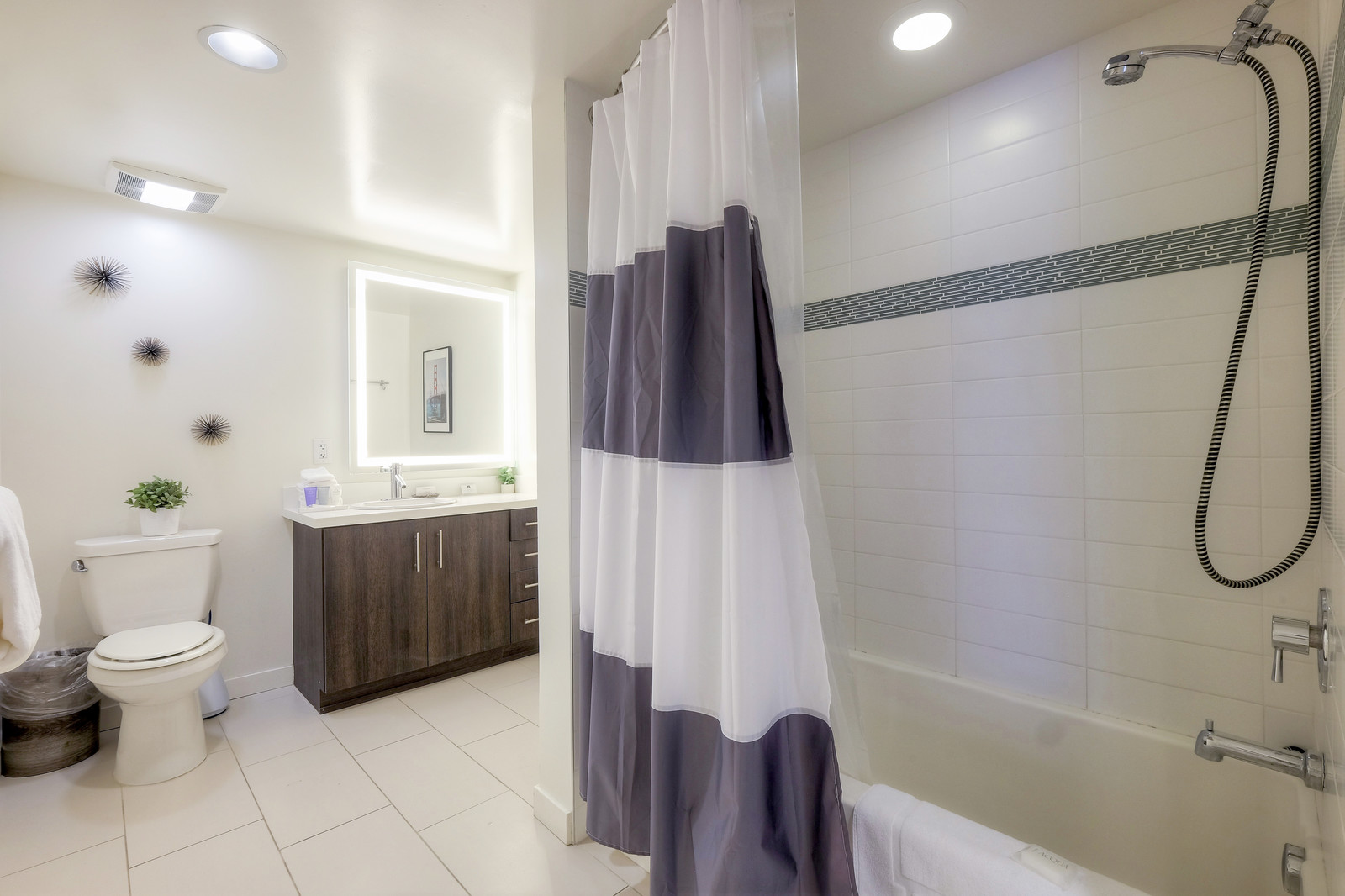 Bathroom at The Gibson Apartment
