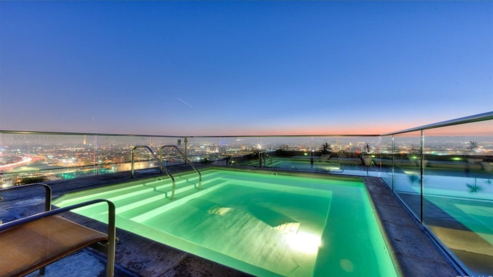 Pool at 1100 Wilshire Apartment