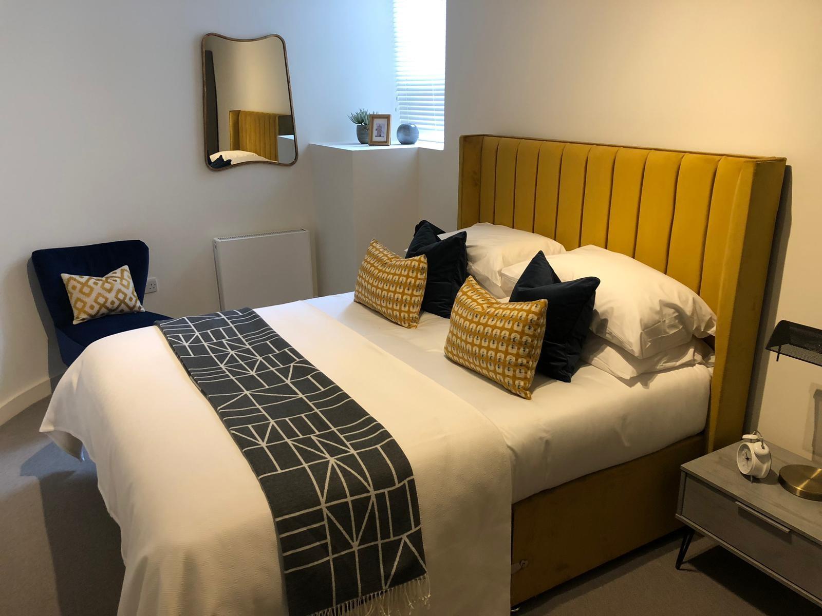 Bedroom at Shoreditch Apartments