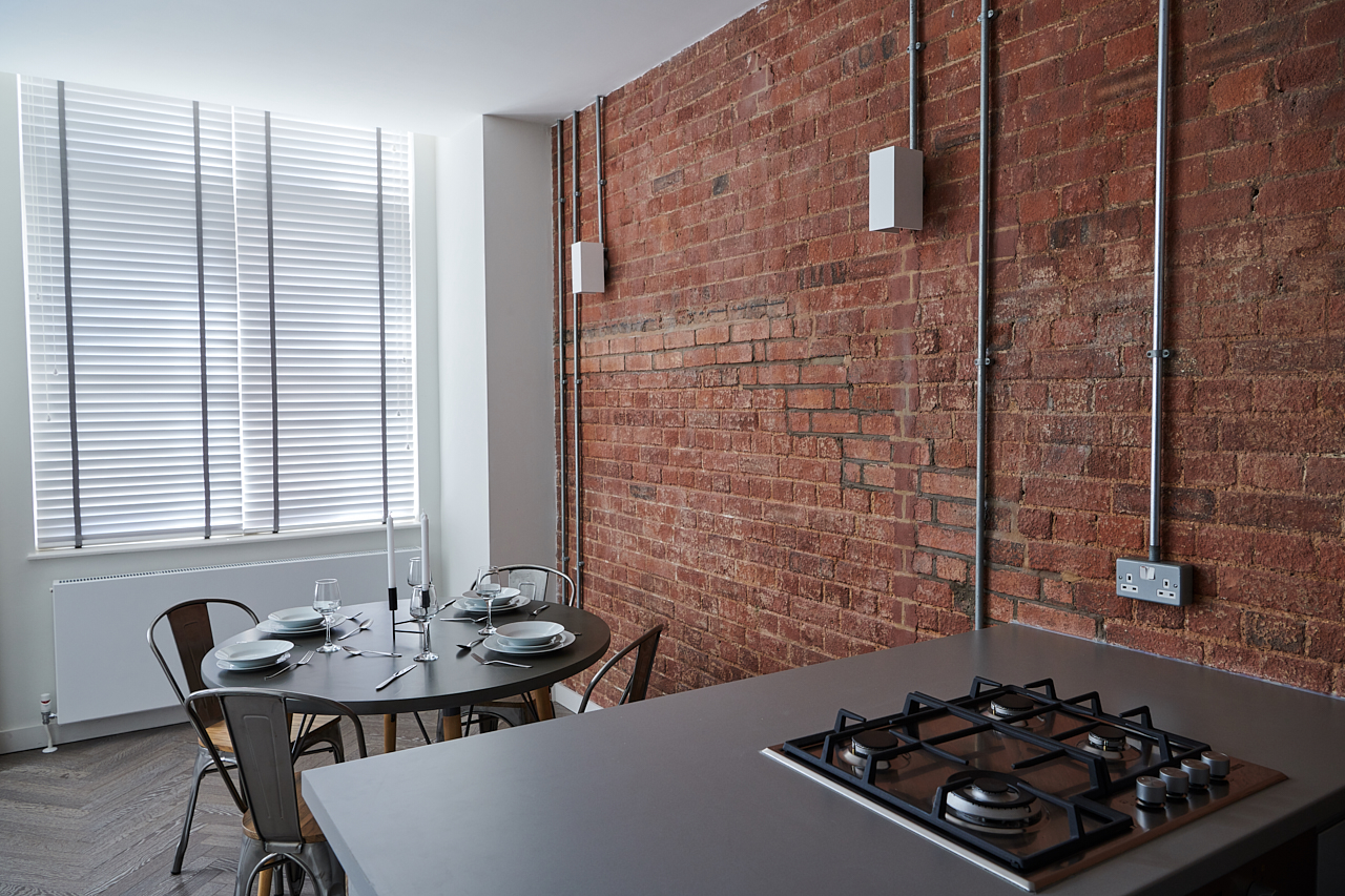 Worktop at The Residence at Shoreditch Apartments